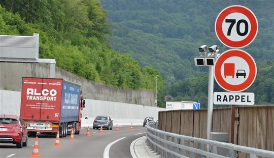 radars moyenne tronçon autoroute