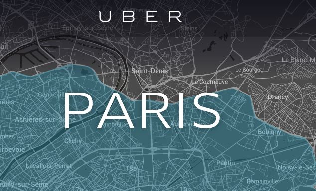 Uber VTC Paris