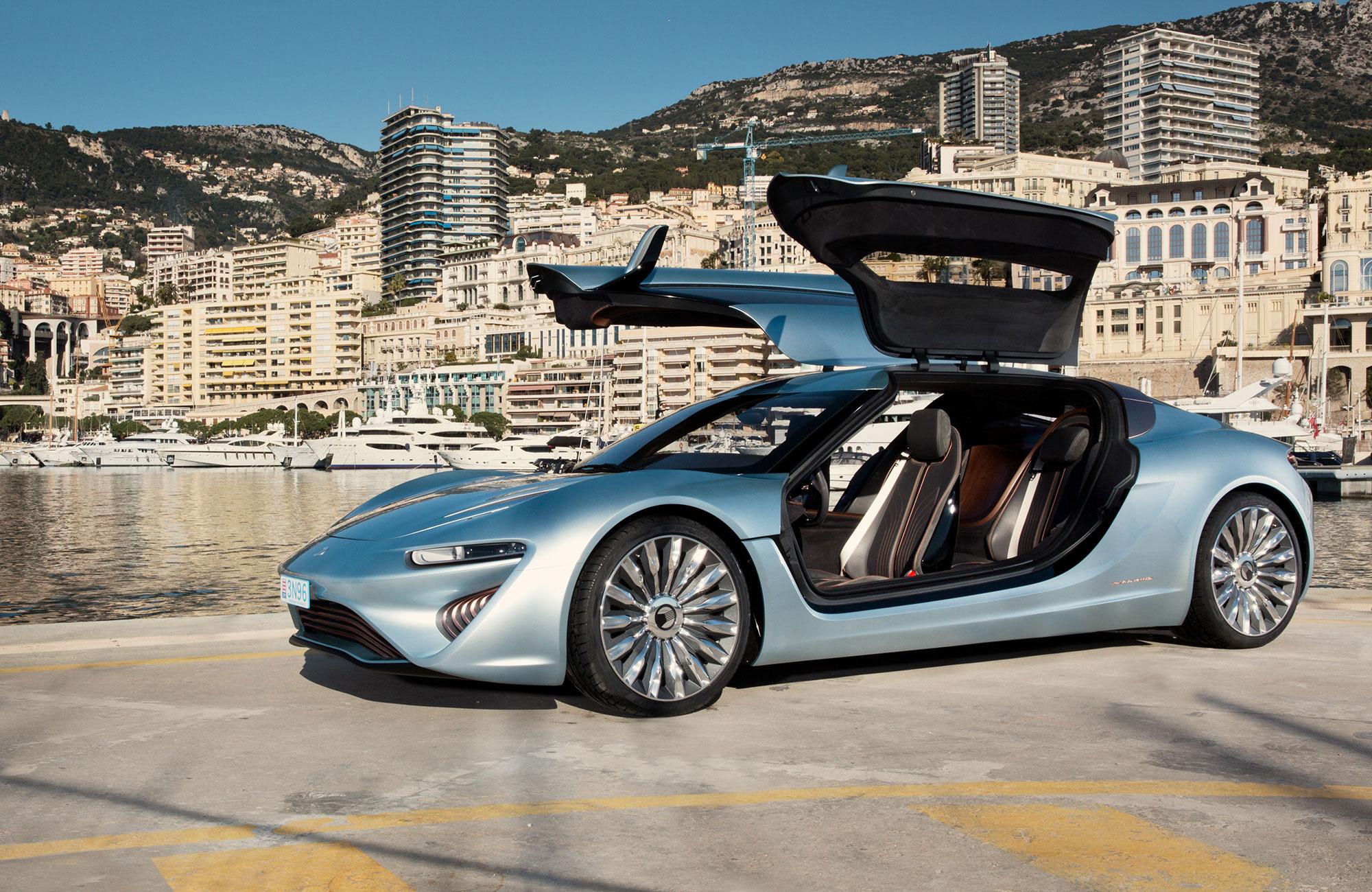 Concept car Quant e-sportlimousine