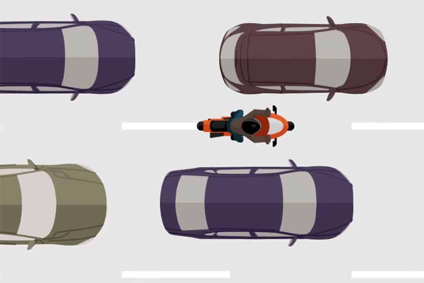 Tout ce qu'il faut savoir sur la circulation inter-files en deux-roues