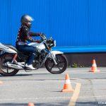 Comment se déroule l'épreuve du plateau moto ?